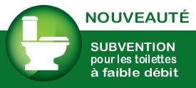 Programme de subvention de toilettes à faible débit